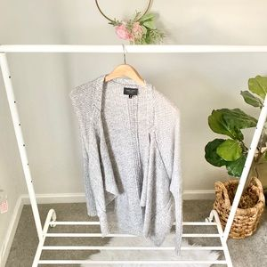 Romeo + Juliet Couture gray oversized sweater